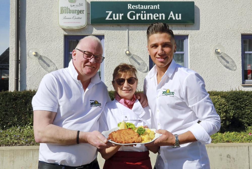 Wirtsfamilie Palmer von der Grünen Au in Erlangen